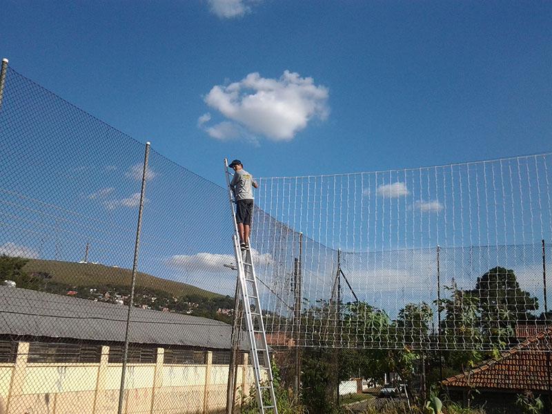 Redes de Proteção em Quadras Esportivas - Ginásios - Campos de Futebol -  Multredes - Porto Alegre de94a9c918875
